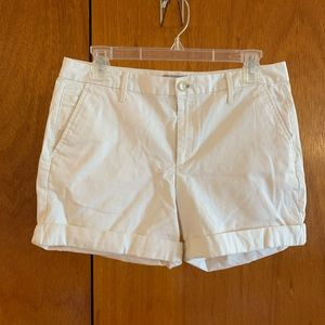 Banana Republic Pale Yellow casual shorts